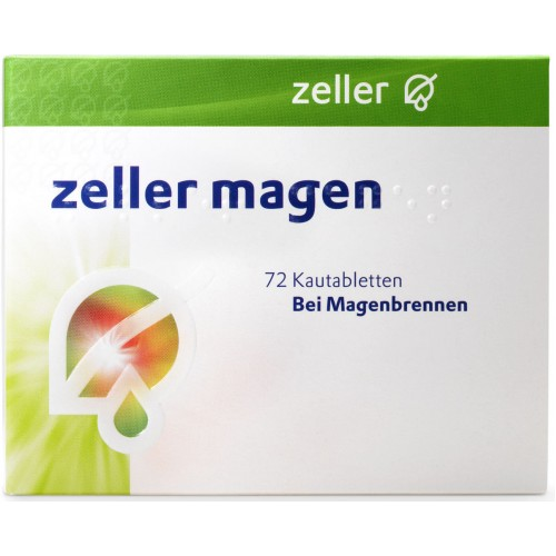 ZELLER Magen Kautabl 72 Stk