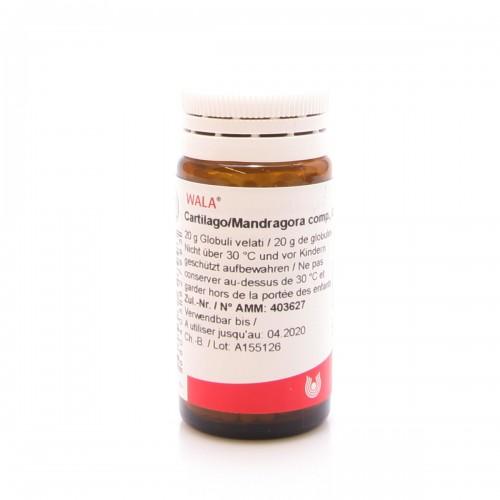 WALA Cartilago/Mandragora comp Glob Fl 20 g