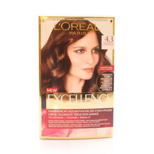EXCELLENCE Color Creme 4.3 Goldbraun