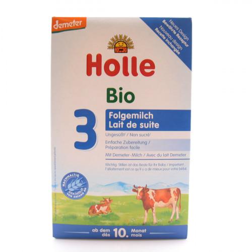 HOLLE Bio-Folgemilch 3 alt 600 g