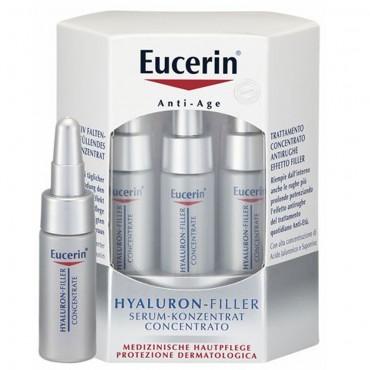 EUCERIN HYALURON-FILLER Serum Konzent 6 x 5 ml