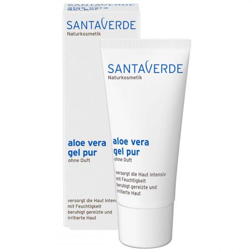 SANTAVERDE aloe vera gel pur ohne Duft 100 ml