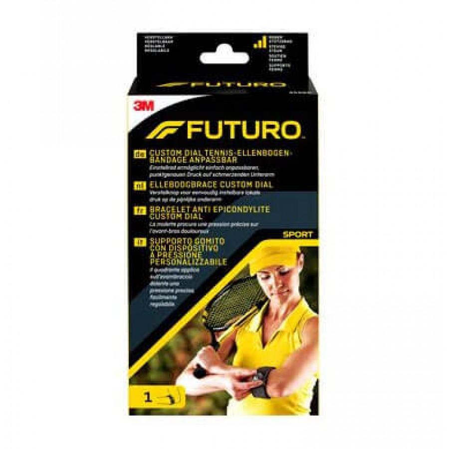 Hier sehen Sie den Artikel 3M FUTURO SPORT Tennis-Ellbogenbandage one size aus der Kategorie Ellbogenbandagen. Dieser Artikel ist erhältlich bei apothekedrogerie.ch