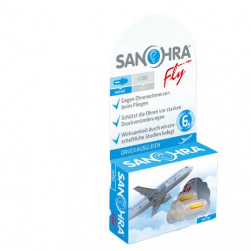 SANOHRA FLY Ohrenstöpsel Erwachsene 2 Stk