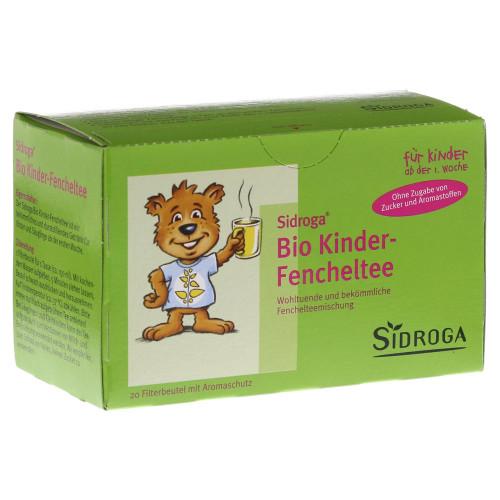 SIDROGA Baby- und Kinder-Fencheltee 20 Btl 2 g