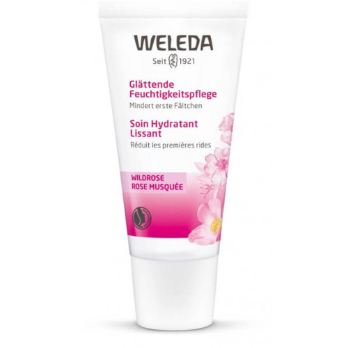 WELEDA Wildrose Feuchtigkeitspflege glättend 30 ml