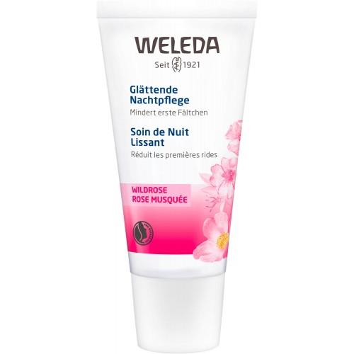 WELEDA Wildrose Nachtpflege glättend 30 ml