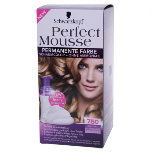 PERFECT MOUSSE 750 dunkles goldblond