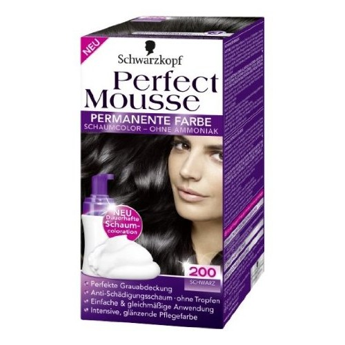PERFECT MOUSSE 200 schwarz