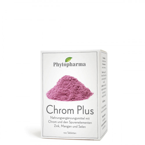 PHYTOPHARMA Chrom Plus Tabl 100 Stk