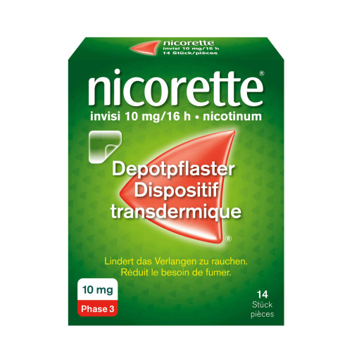 NICORETTE Invisi Patch 10 mg/16h 14 Stk