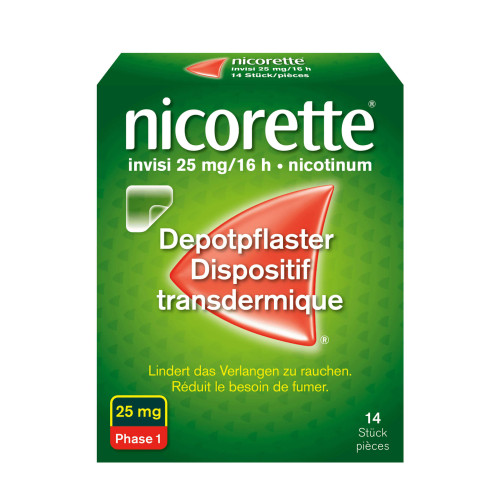 NICORETTE Invisi Patch 25 mg/16h 14 Stk