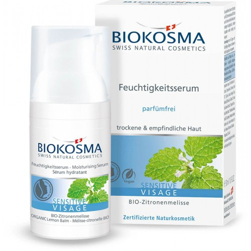 BIOKOSMA Sensitive Feuchtigkeitsserum 30 ml