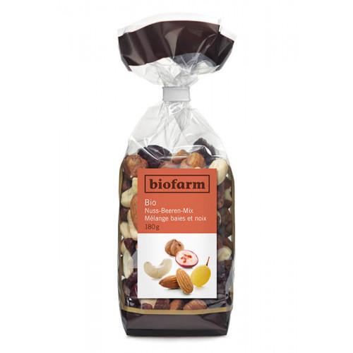 BIOFARM Nuss-Beeren-Mix Knospe Btl 180 g