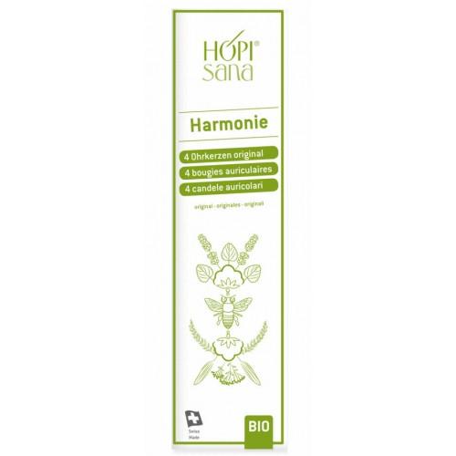 HOPISANA Ohrenkerzen grün Harmonie 4 Stk