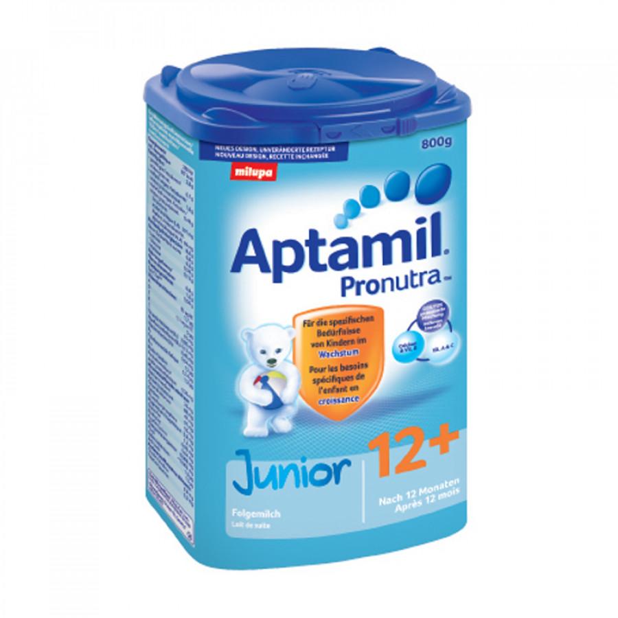 Hier sehen Sie den Artikel MILUPA Aptamil Junior 12+ EaZypack 800 g aus der Kategorie Milch und Schleim. Dieser Artikel ist erhältlich bei apothekedrogerie.ch