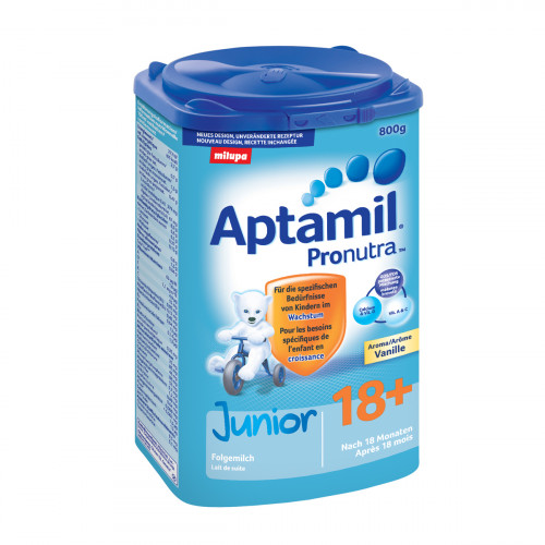 MILUPA Aptamil Junior 18+ Vanille EaZypack 800 g