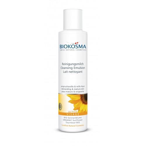 BIOKOSMA Active Reinigungsmilch Fl 150 ml
