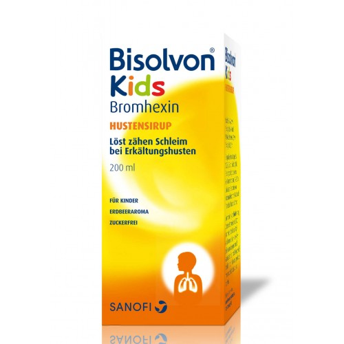 BISOLVON Kids Hustensirup Fl 200 ml