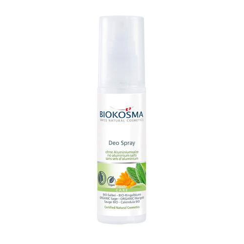 BIOKOSMA Deo Salbei neutraler Duft Spray 75 ml