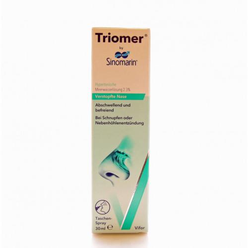 TRIOMER Nasenspray Sinomarin hypertonisch 30 ml