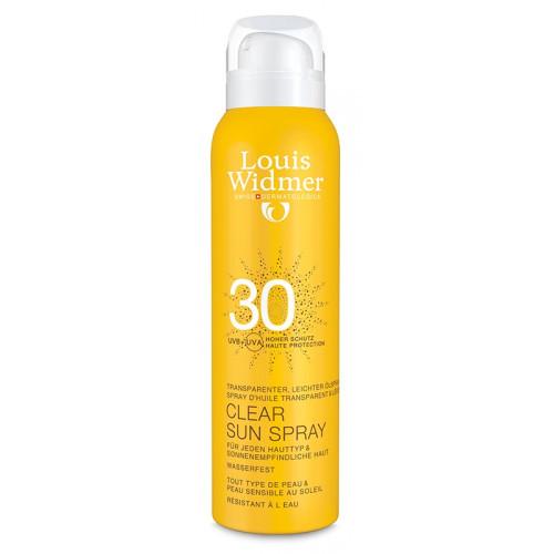 WIDMER Clear Sun 30 Parf Spr 125 ml