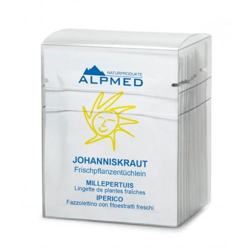 ALPMED Frischpflanzentüchlein Johanniskraut 13 Stk