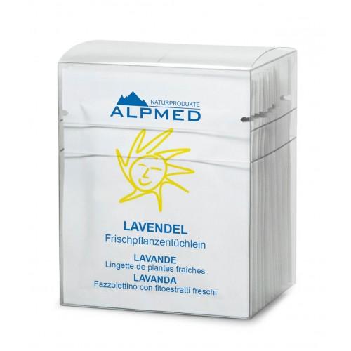 ALPMED Frischpflanzentüchlein Lavendel 13 Stk