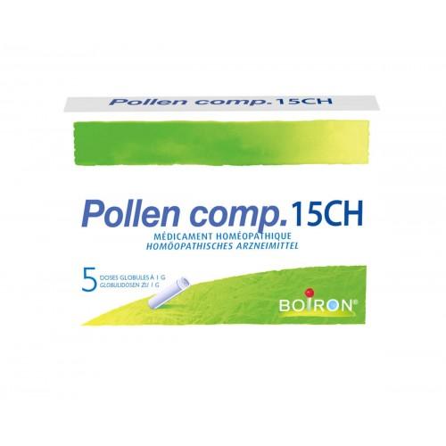 BOIRON Pollen comp Glob CH 15 5 x 1 Dos