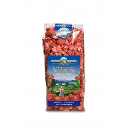 BIOKING Erdbeeren gefriergetrocknet 40 g