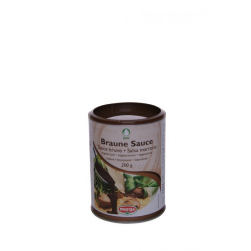 MORGA Sauce braun Bio 200 g