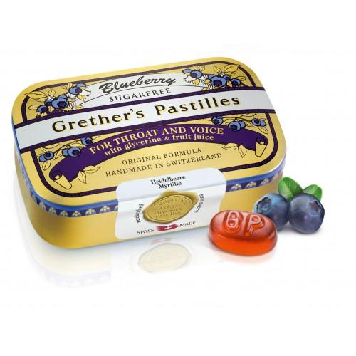 GRETHERS Blueberry Past ohne Zucker 110 g