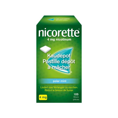 NICORETTE Polar Mint Kaudepots 4 mg 105 Stk