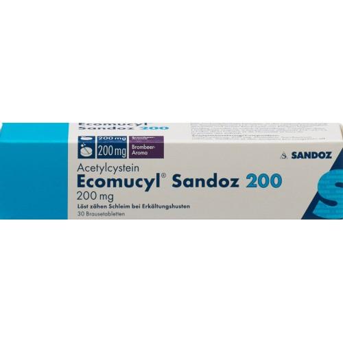 ECOMUCYL Sandoz Brausetabl 200 mg 30 Stk