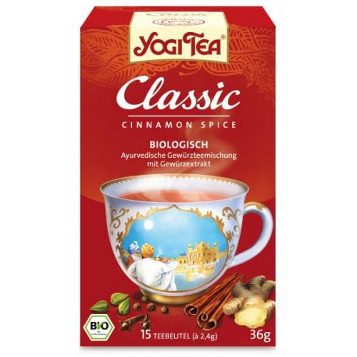 YOGI TEA Classic CHAI Cinnamon Spice lose 90 g