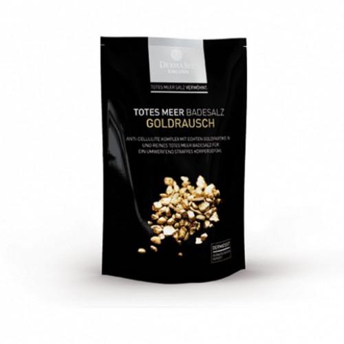 DERMASEL Badesalz Gold +20ml 400 g
