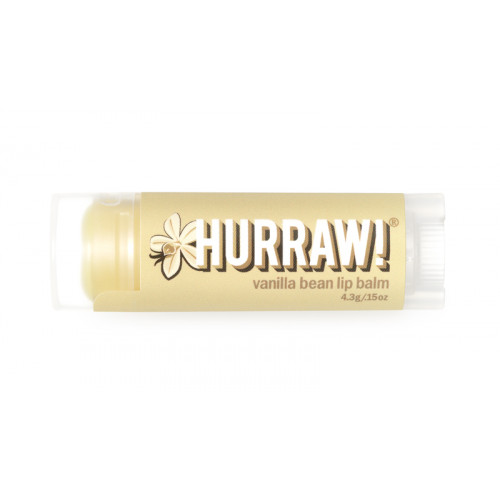 HURRAW! Lip Balm Vanilla Bean 4.3 g
