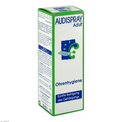 AUDISPRAY Adult Ohrenhygiene Spr 50 ml