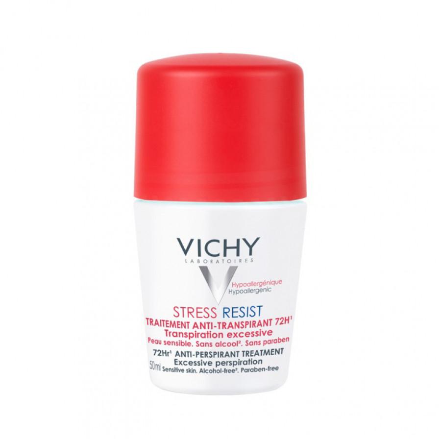 Hier sehen Sie den Artikel VICHY Deo Stress Resist Roll-on 50 ml aus der Kategorie Deodorants Fluessige Formen. Dieser Artikel ist erhältlich bei unseredrogerie.ch