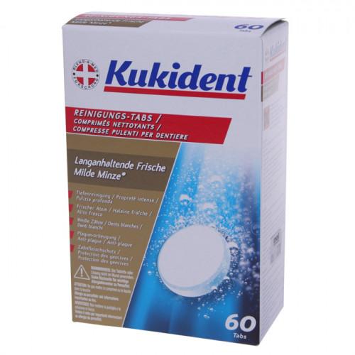 KUKIDENT Reinigung-Tabs frische Minze 60 Stk