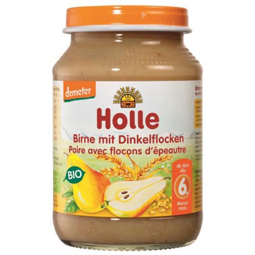 HOLLE Birne mit Dinkelflocken Bio 190 g
