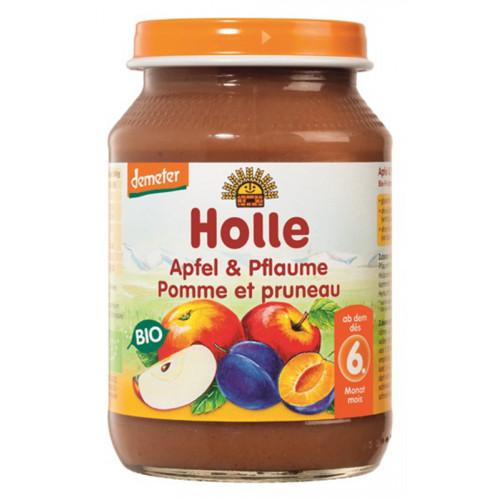 HOLLE Apfel & Pflaume Bio 190 g
