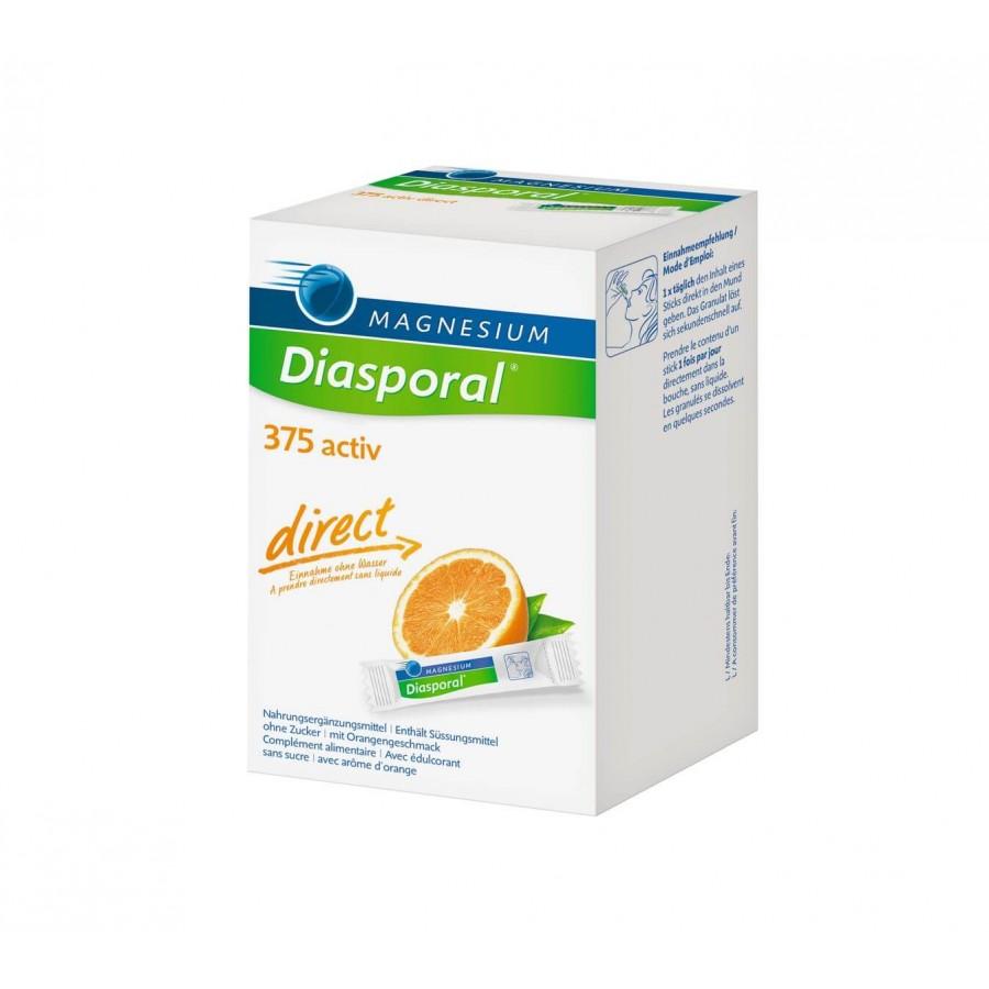 Hier sehen Sie den Artikel MAGNESIUM DIASPORAL Activ Direct orange 60 Stk aus der Kategorie Kurmittel/Nahrungsergänzung. Dieser Artikel ist erhältlich bei unseredrogerie.ch