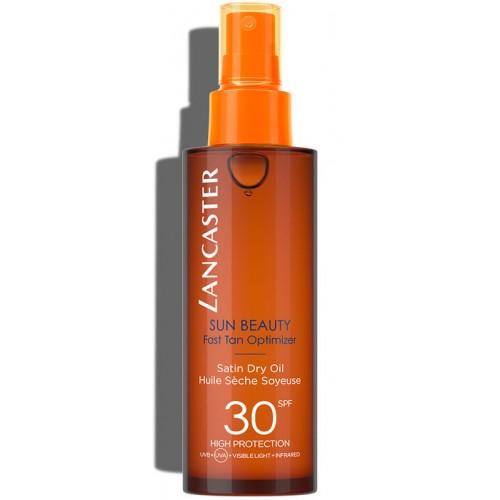 LANCASTER SUN BEAUTY Body Satin Oil Tan Spf30 150 ml