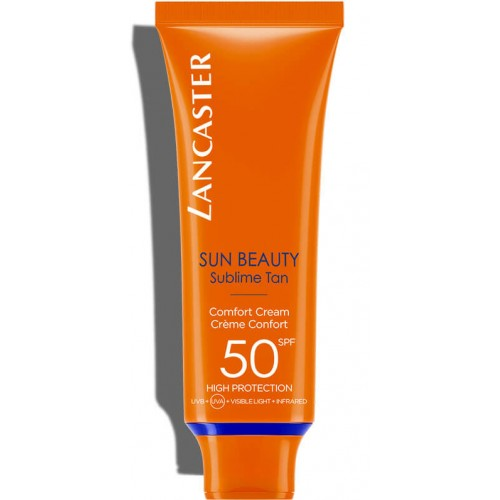 LANCASTER SUN BEAUTY Face Comfort Creme Gent Spf50 50 ml