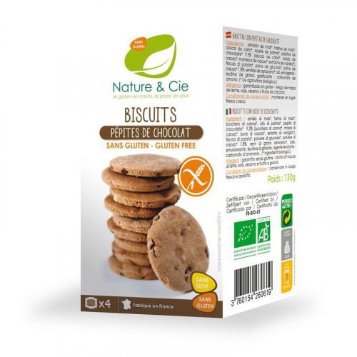 NATURE&CIE Schoko Kekse Stück glutenfrei 125 g