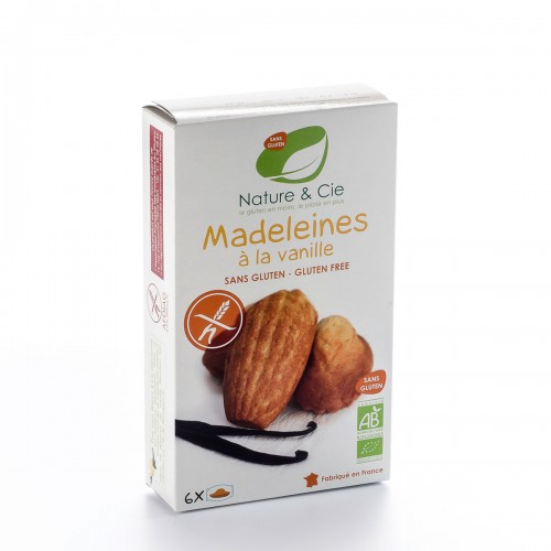 NATURE&CIE Madeleines Vanille glutenfrei 6 x 25 g