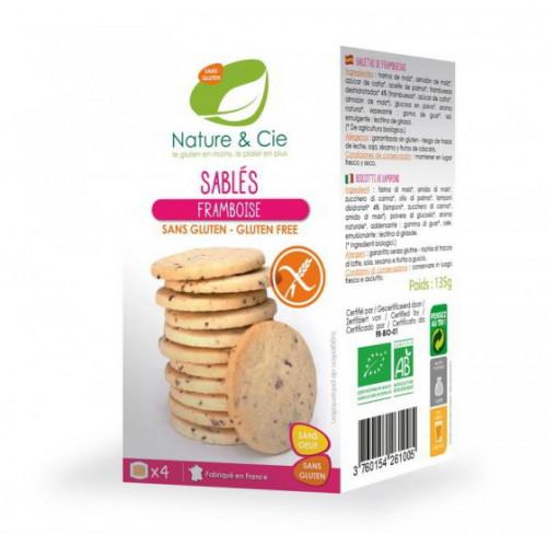 NATURE&CIE Butterkeks Himbeer glutenfrei 120 g