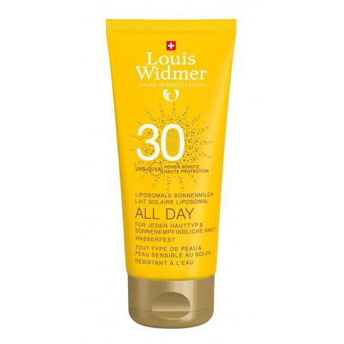 LOUIS WIDMER All Day 30 Unparfümiert 100 ml