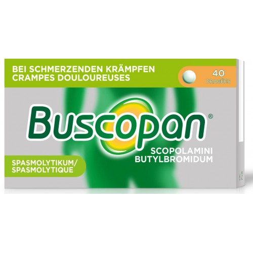 BUSCOPAN Drag 10 mg 40 Stk